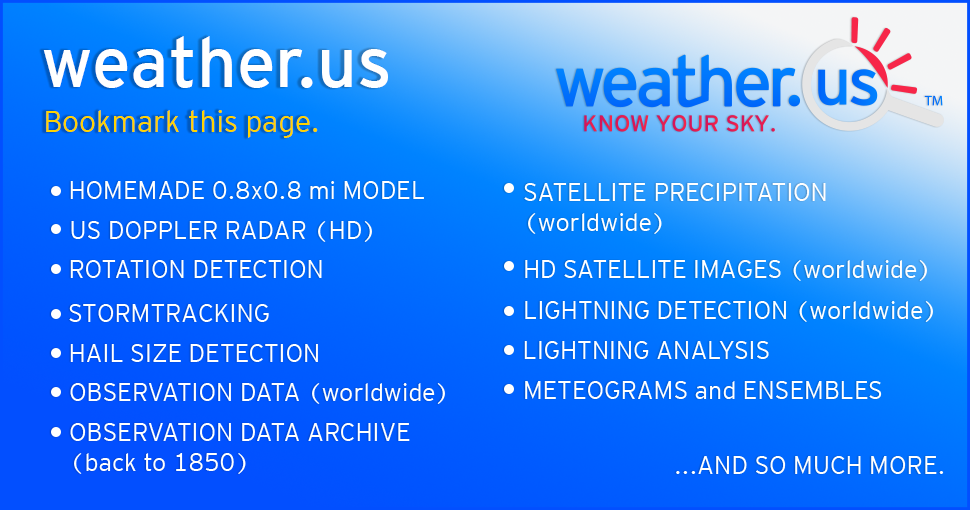 Know your sky - weather us